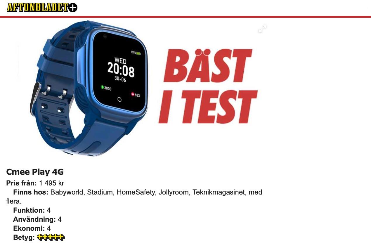 GPS Klocka Barn Aftonbladet Bäst i Test